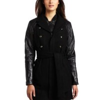 Diesel Women's L-Erenoo Mid Thigh Length Jacket