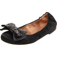 See by Chloe Women`s 17120 Ballet Flat,Nero,7.5 M US