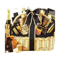 SCHEDULE YOUR DELIVERY DAY! Great Impressions Gourmet Food Gift Basket with Smoked Salmon