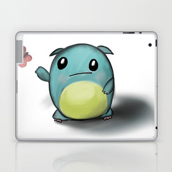 cuteness monster Laptop & iPad Skin by Dubai icreative
