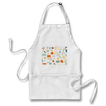 My Life in Doodles Apron
