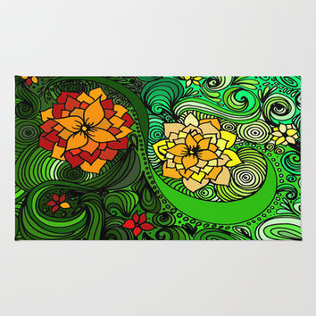 The nature of Nature Area & Throw Rug by DuckyB (Brandi)