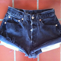 Vintage Levi High Waisted Shorts by LindsayLouVintage on Etsy
