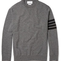 Thom Browne - Striped Cashmere Sweater | MR PORTER