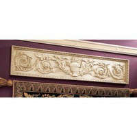 Design Toscano Horizontal San Galgano Wall Pediment - NG33631 - Decor