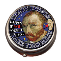Van Gogh Pill Box::Unemployed Philosophers Guild