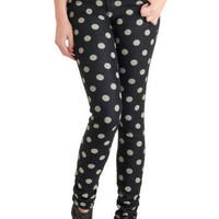 Dot the Difference Jeans | Mod Retro Vintage Pants | ModCloth.com