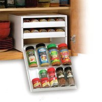 Youcopia Super Spicestack 27-bottle Spice Organizer, White
