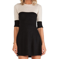 KNITZ by For Love & Lemons BRR Dress in Black