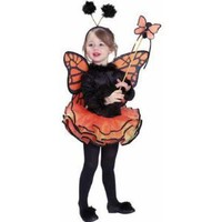 Child's Costume, Orange Butterfly Costume