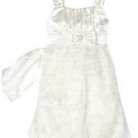 Ruby Rox Kids Girls 7-16 White Feather Dress