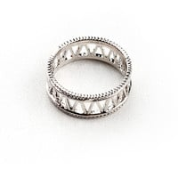 Roman Five Ring - Trendy Rings at Pinkice.com