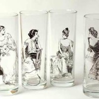 Victorian trading Co. - www.victoriantradingco.com - Gibson Girl Tumblers&lt;br/&gt;&lt;img src=/ebaydav/images/bestsellertag.jpg alt=?bestseller tag?&gt;