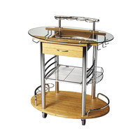 Back to the Future Bar Cart