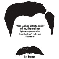 Ron Swanson // Parks and Recreation Unisex T-Shirt