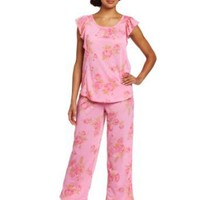 Carole Hochman Women&#x27;s Rosewalk Garden Mother/Daughter Pajama