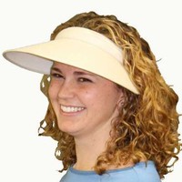 Clip-On Sun Visor Hat