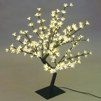 "Walmart: 17.71"" Desk-Top Cherry Blossom Tree, Black"