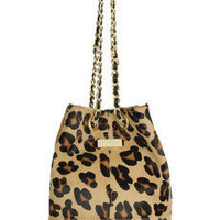 Meli Melo | Guia Medium cheetah-print calf hair bucket bag | NET-A-PORTER.COM