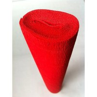 Italian Crepe Paper roll 180 gram - 580 BRIGHT RED