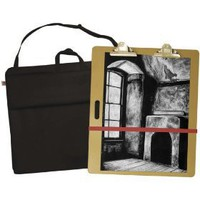 Pro Art 24-inch-by-27-inch Portfolio with 23-inch-by-26-inch Sketch Board