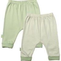 Kushies Packaged Layette 2 Pack Cuffed Pant
