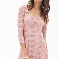 FOREVER 21 A-Line Lace Dress