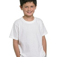 Hanes Classics White Crew Boys Undershirt 4-Pack, XL-White