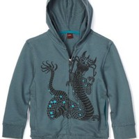 Tea Collection Boys 2-7 Growling Naga Zip Hoodie
