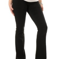 Motherhood Maternity: Early and After Belly Tech Twill Super Stretch Skinny Flare Maternity Pants