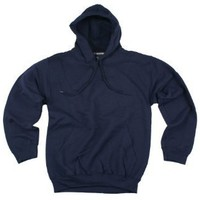 Adidas Mens Fleece Hoodie, Hooded Pullover Sweatshirt, Navy Blue