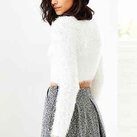 MINKPINK Freckles Fuzzy Cropped Sweater - Urban Outfitters