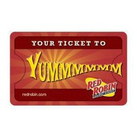 Red Robin Balloon Gift Card
