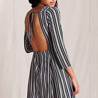 Dawn Open-Back Mini Dress - Urban Outfitters