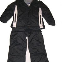 Girls Sportcaster 2pc Snowsuit, Ski Jacket and Bibs, Insulated, Sz 4-6x, Purple, Turquoise or Black