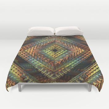 D-Zine Duvet Cover by Lyle Hatch | Society6
