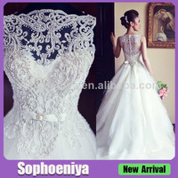 Alibaba.com - Wholesale WD061904 Classical Beaded Embroidery Hot Sale Vintage Wedding Dresses