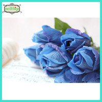 45cm Real Touch Silk Fake Blue Roses - Buy 45cm Real Touch Silk Fake Blue Roses,Real Touch Silk Fake Blue Roses,Fake Blue Roses Product on Alibaba.com