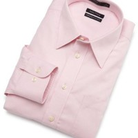 Nautica Men`s Solid Non Iron Dress Shirt