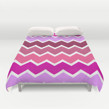 Zigzag Duvet Cover by Ornaart