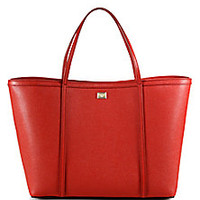 Dolce & Gabbana - Textured Leather Tote - Saks Fifth Avenue Mobile