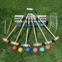 Lion Sports 6 Player Select Croquet Set | www.hayneedle.com