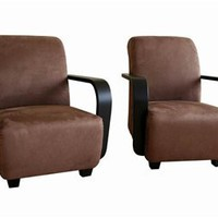 Micro Fiber Accent Chair, Modern Accent Chair, Modern Designer Chair: Nyfurnitureoutlets.com