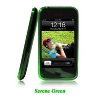 Shades iPhone 3G, 3GS Case, Cover - Serene Green