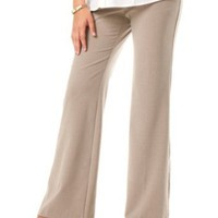 Motherhood Maternity: Petite Secret Fit Belly(tm) Bi-stretch Suiting Fit And Flare Maternity Pants