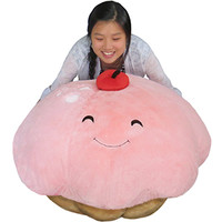 Massive Cupcake Bean Bag: An Adorable Fuzzy Plush to Snurfle and Squeeze!