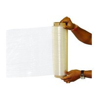 "18"" x 1000' x 80ga Stretch Wrap Film - 1 Roll/cs"