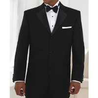 Neil Allyn One Button Notch Lapel Poly/Wool Tuxedo Jacket and Pants