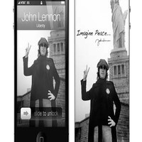 MusicSkins John Lennon Liberty iPhone 44S Skin : Karmaloop.com - Global Concrete Culture