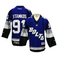 Tampa Bay Lightning Steven Stamkos Reebok Replica Alternate Youth Jersey
